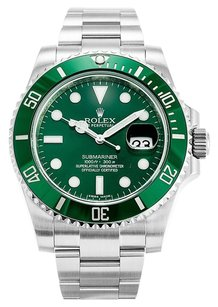 Rolex Rolex Submariner 116610LV Stainless Steel Green Dial Men's Watch