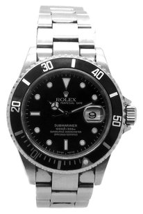 Rolex Rolex Submariner 16610 Stainless Steel Black Dial Men's Watch
