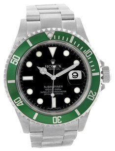 Rolex Rolex Submariner Green 50th Anniversary Edition Steel Watch 16610LV