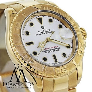 Rolex Rolex Yacht-master 16628 18k Yellow Gold White Dial Automatic Watch