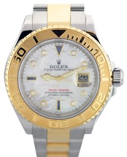 Rolex Rolex Yacht-Master 18K Gold and Steel Custom Diamond Men's Watch