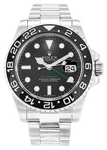 Rolex STAINLESS STEEL GMT MASTER II 116710 LN 40MM MEN'S WATCH