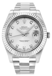 Rolex ROLEX DATEJUST II 116334 ORIGINAL DIAMOND DIAL MEN'S WATCH