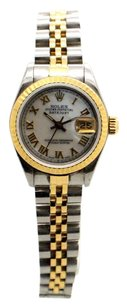 Rolex Rolex DateJust 69173 Stainless Steel and 18K Yellow Gold Ladies Watch