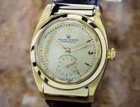 Rolex Vintage 1920s Solid Gold Rolex Ref 3064 Perpetual Mens Historic Watch Eb112
