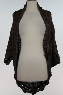Romeo & Juliet Couture Womens Brown Sweater