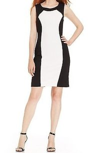Ronni Nicole Black Colorblock Dress