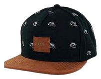Rook Rat Race Snapback Black/Brown Suede Mens