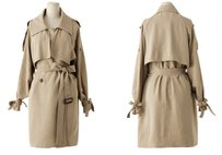 Rosepepper Double Breasted Trench Trench Coat