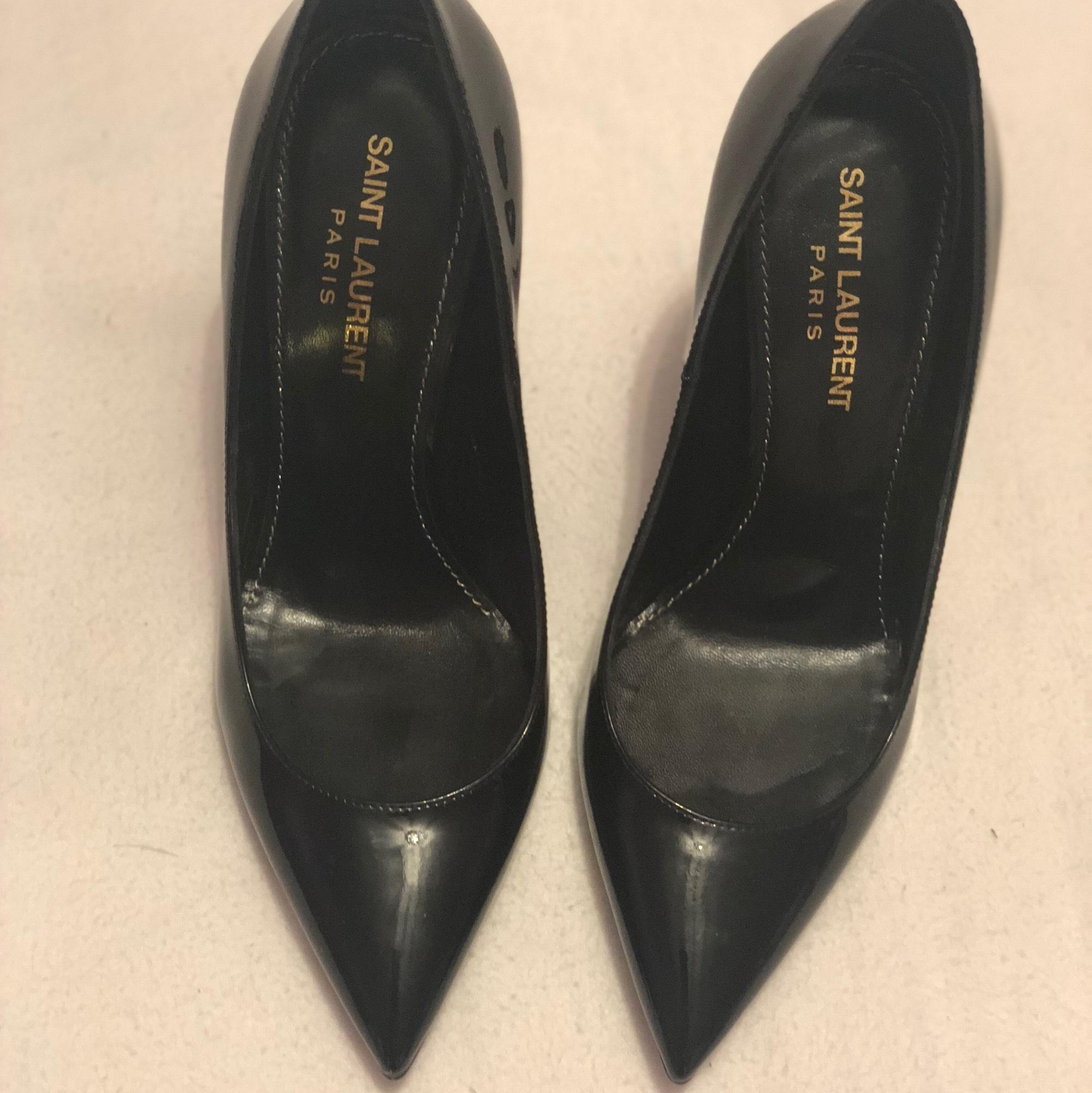 350c32c98 US 6 Saint Laurent Black Opyum Opyum Opyum Heels Pumps Size EU 36 (Approx.