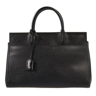 Saint Laurent Cabas Rive Tote in Black