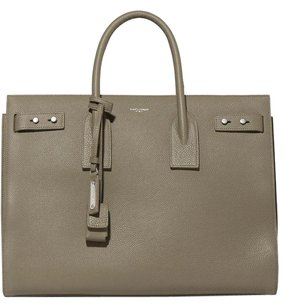 Saint Laurent Sac De Jour Medium Ysl Ysl Tote in army green