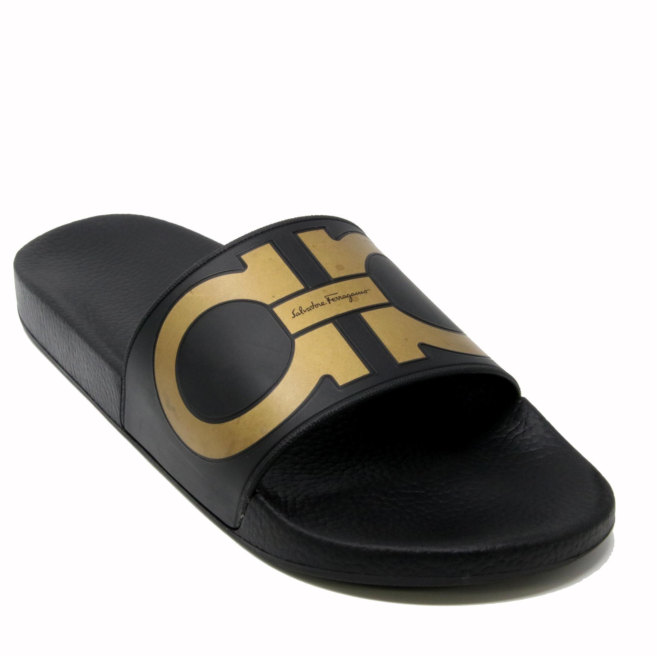 discount low cost Salvatore Ferragamo logo detail flip flops outlet shop for Manchester cheap price YD2ZeJE
