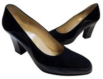 Salvatore Ferragamo Italy Black Pumps