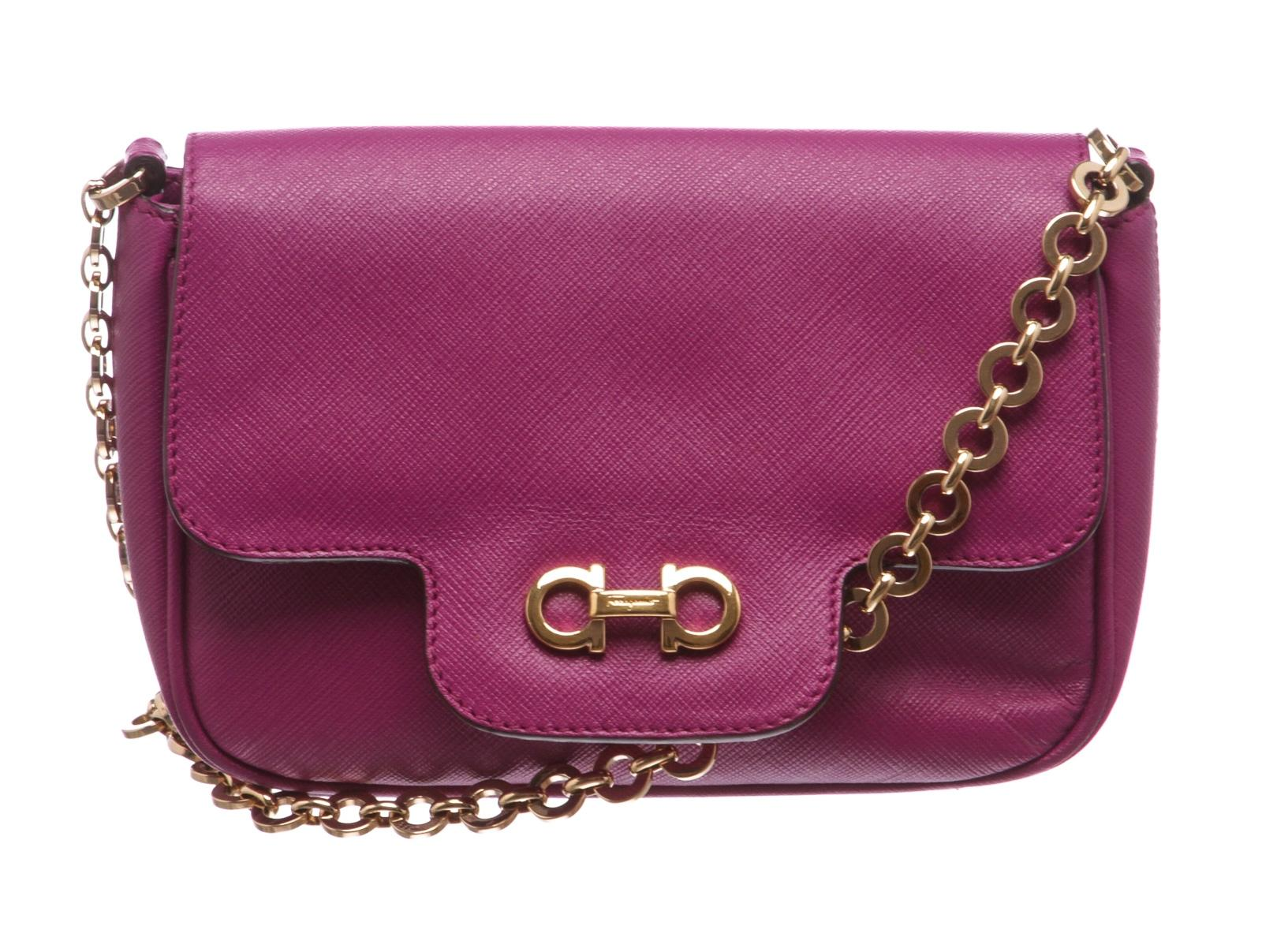 Gancini shoulder bag - Pink & Purple Salvatore Ferragamo p7hoQ56AvM