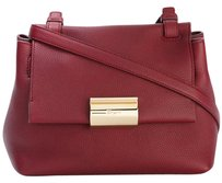 Salvatore Ferragamo Ginger Opera Red Cross Body Bag