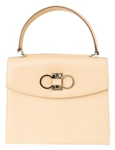 Salvatore Ferragamo Leather Purse Shoulder Bag