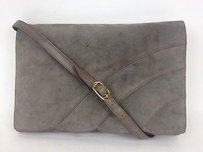 Salvatore Ferragamo Vintage Suede Single Flap Max047490 Shoulder Bag