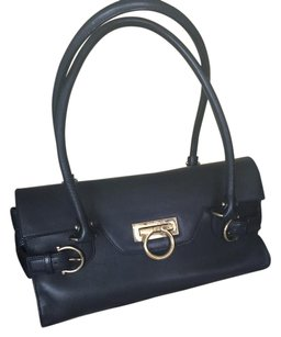 Salvatore Ferragamo Vintage Gancini Shoulder Bag