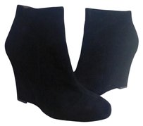Sam Edelman Shoe Wedge Black Boots