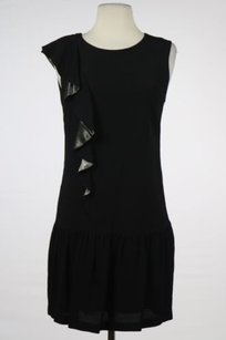 Sandro Womens Black Sheath Dress