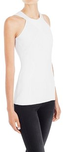 sass & bide Fitted Knit Blouse Beauty Top White