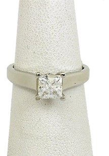 Scott Kay Scott Kay Platinum Diamonds Ladies Engagement Solitaire Ring Mounting
