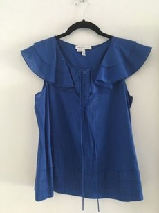 See by Chloé Chloe Summer Blouse Top Blue