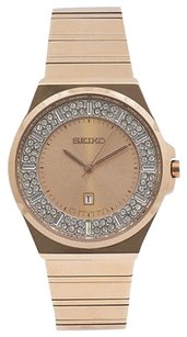 Seiko Seiko Sxdf74 Womens Watch Rose Gold -