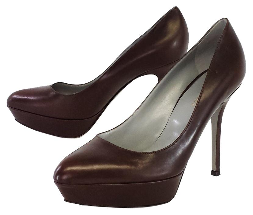 pointed toe pumps - Brown Sergio Rossi TupqrGap