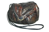 Sharif Vintage Snakeskin Crocodile Alligator Cross Body Bag