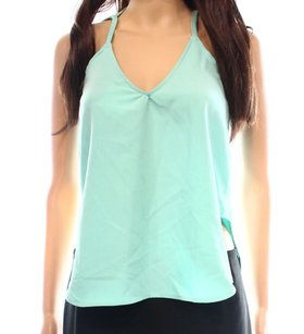 Laundry by Shelli Segal 100% Polyester 15459 Top Green