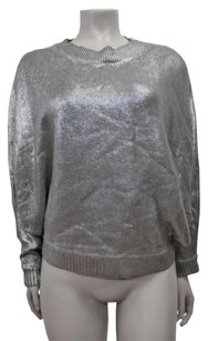 Sheri Bodell Metallic Crew Neck Dolman Sweater