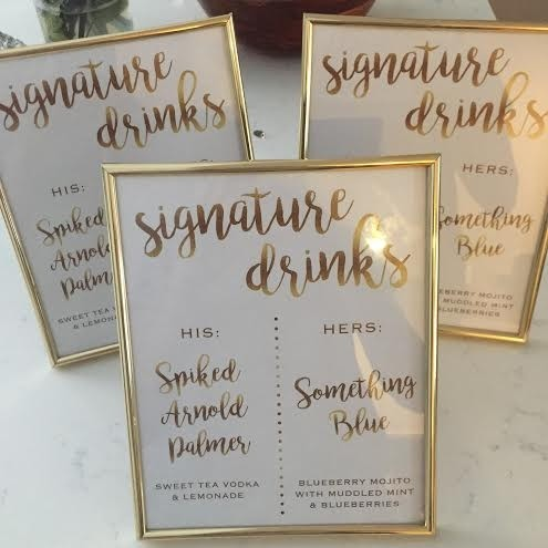 Wedding reception template downloads for your day-of wedding place cards, programs, menus, etc. Marrygrams makes it easy to order all your stationery. About our signature drink signs. Download a sample signature drink template; $ Signature Drink Custom Wedding Bar Sign Thin Style $ Signature Drink Custom Wedding Bar Sign.
