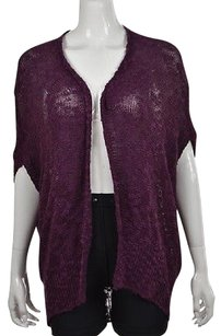 Silence + Noise Amp Womens Cardigan Textured Open Front Sweater