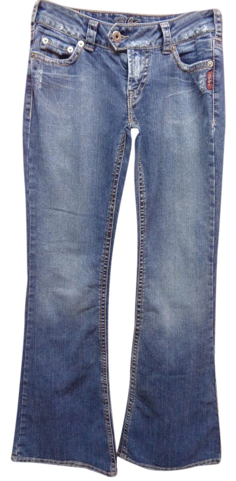 Silver Jeans Co. Flare Leg Jeans 50%OFF - www.thewatersportsfarm.com
