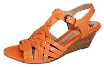 SOFFT Petula Huarache Orange Sandals