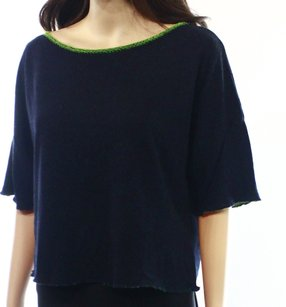 SOLOW Boat Neck New With Tags Rayon Sweater