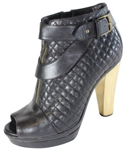 Sonia Rykiel Quilted Black Boots