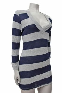 Splendid Striped V Sweater