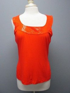 St. John St Embellished Top orange