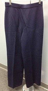 St. John Collection Santana Knit Navy Elastic Waist Stretchy Sm12299 Pants