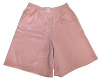 St. John Sportswear Stretch Shorts Pink