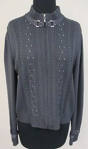 St. John Collection Slate Sweater