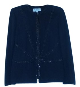 St. John Knit Cardigan black Jacket