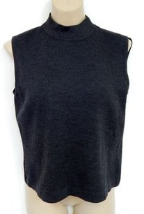St. John St Charcoal Sleeveless Sweater
