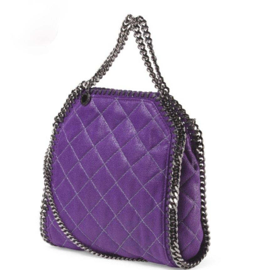 stella mccartney brand new falabella quilted chain logo