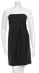 Stella McCartney Strapless Date Night Pleated Night Out Dress