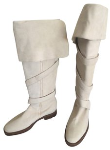 Stephane Kelian Off White Boots