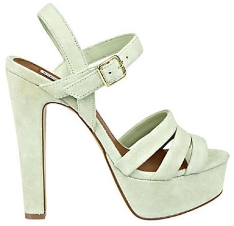 Steve Madden Mint Green Dayglow US Sandals Size US Dayglow 8 Regular (M, B) 8aa5f9